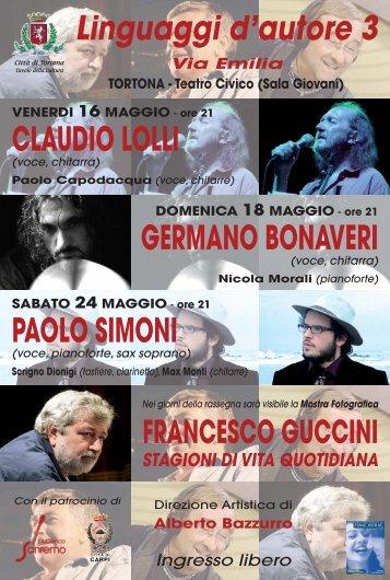 Progetto1 (Page 1) - Club Tenco