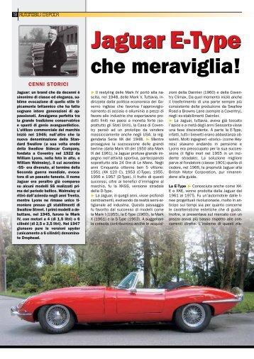 Jaguar E-Type Jaguar E-Type - ACS