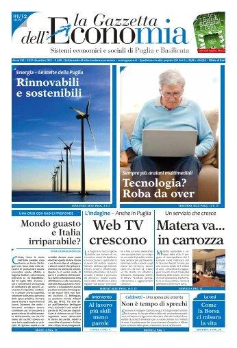 Web TV - La Gazzetta dell'Economia