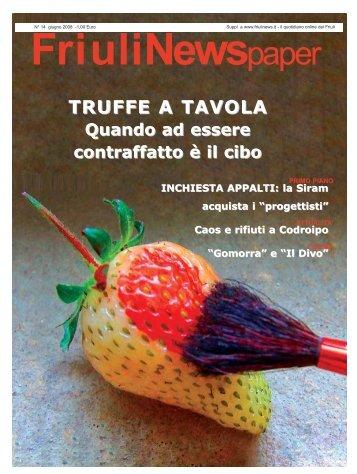TRUFFE A TAVOLA Quando ad essere contraffatto è il ... - FriuliNews.it