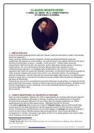 claudio monteverdi - Altervista