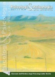 N.6 - Dicembre 2007 - Ordine Psicologi Sicilia