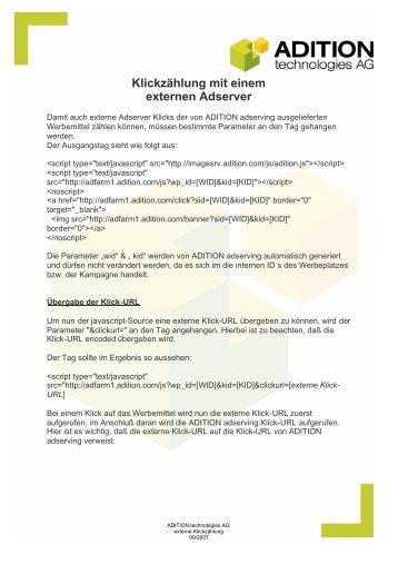Externe Clickzählung (PDF) - Brand Europe