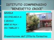 benedetto croce - Istituto Comprensivo Pula
