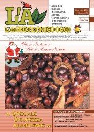 L'Agrotecnico Oggi dicembre 04 - Collegio Nazionale degli Agrotecnici