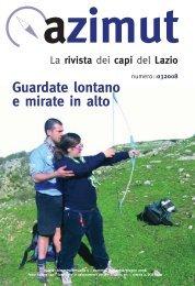 Azimut - bimestrale dell'Agesci Lazio - Rete dei Centri Scout Italiani
