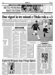 11/02/2008 Campionato 23a Giornata: Girone C - serie d news