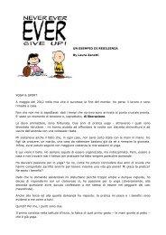 UN ESEMPIO DI RESILIENZA By Laura Zanetti YOGA & SPORT A ...