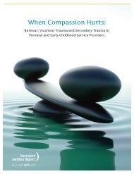 When Compassion Hurts: - Best Start: Ontario's Maternal Newborn ...