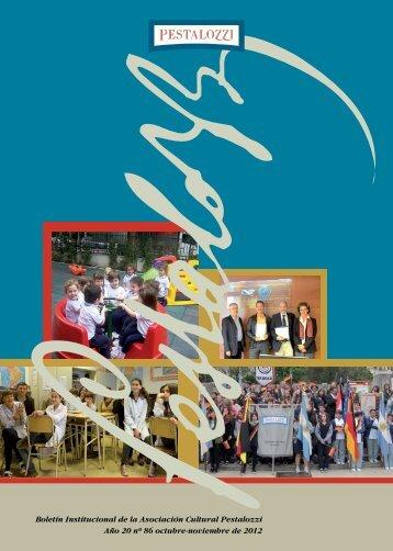 Edición noviembre 2012 (formato PDF; 5 MB) - Colegio Pestalozzi