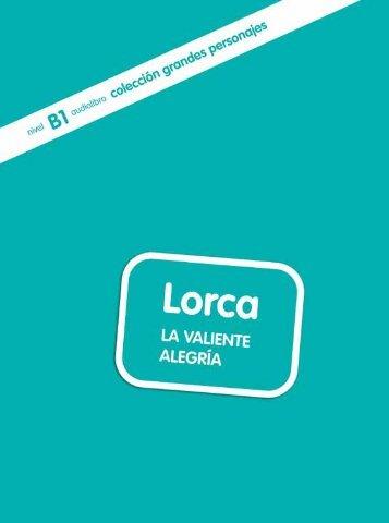 Lorca. La valiente alegría - Unidad de muestra - Difusión