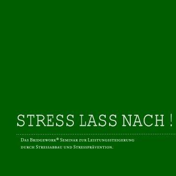 Stress - Bridgehouse