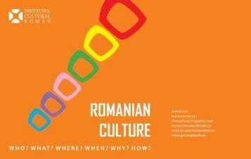brosura icr.pdf - Institutul Cultural Român