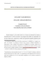 ius latii y lex irnitana - revista internacional de derecho romano-index