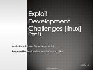 Exploit-Developement-Linux-Part1