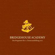 Schwarzer Gürtel für Trainer - Bridgehouse