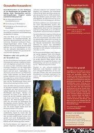 Gesundheitswandern - Schmallenberger Sauerland