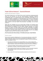 "Projekt ""Kleinvermieterpool"" – Sauerland Reisewelt"