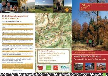 WanderWochen 2013 - Schmallenberger Sauerland