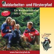 aldarbeiter- und Försterpfad - Schmallenberger Sauerland