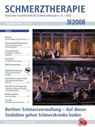 Schmerztherapie 3 / 2008 - Schmerz Therapie Deutsche ...