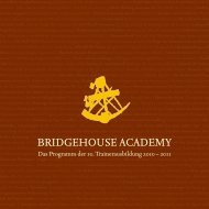 BRIDGEHOUSE ACADEMY