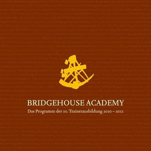 BRIDGEHOUSE ACADEMY