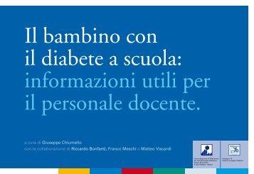 Il bambino con il diabete a scuola: informazioni utili ... - Sostegno 70