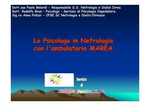 Lo Psicologo in Nefrologia con l'ambulatorio MAREA - Centro di ...