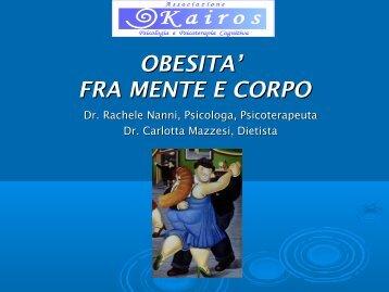 OBESITA' FRA MENTE E CORPO - Associazione Kairos