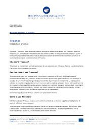 Trisenox, INN: arsenous acid anhydride - European Medicines ...