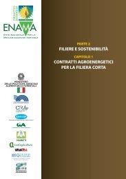 contratti agroenergetici per la filiera corta - Enama