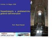 Inquadramento e problematiche generali delle ... - Sardegna Salute