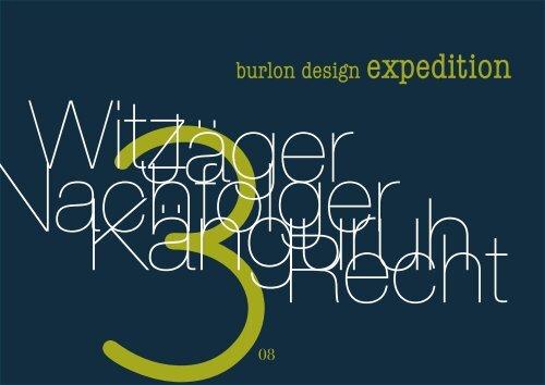 Ausgabe 03 - burlon design