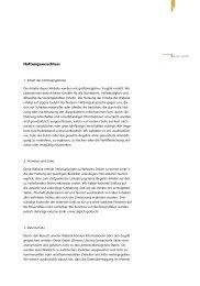 Haftung und Datenschutz - burlon design