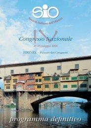 programma pdf - Societa' Italiana Obesità (SIO)