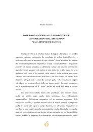 Mario Anaclerio DALL'UOMO-MACCHINA ALL'UOMO INTEGRALE ...