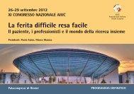 Leggi il programma del Congresso - Cittadinanzattiva Toscana