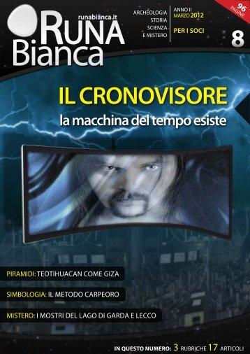 IL CRONOVISORE - Runabianca.it