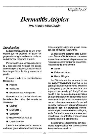 Dermatitis Atópica - Cilad