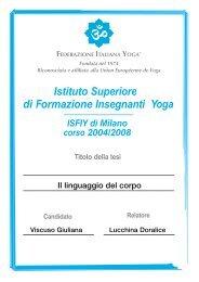 Istituto Superiore Formazione Insegnanti di Yoga - insegnanti yoga