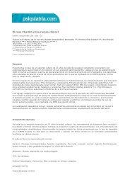 El caso Charlito ¿Una rareza clínica?