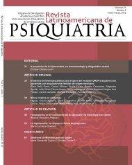 Revista Latinoamericana de Psiquiatría V ol. 11, núm. 2 ... - APAL
