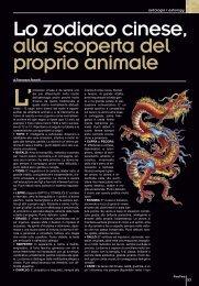 Lo zodiaco cinese The chinese zodiac - Freetimemagazine.net