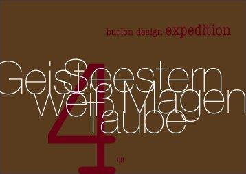 Ausgabe 04 - burlon design