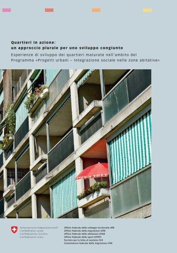 Quartieri in azione: un approccio plurale per uno ... - admin.ch