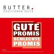 SCHLECHTE PROMIS GUTE PROMIS - Butter