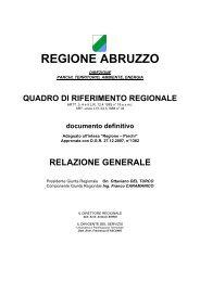 Relazione - Regione Abruzzo