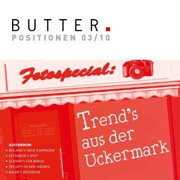 POSITIONEN 03/10 - Butter