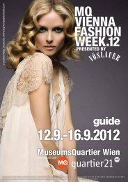 MQ VIENNA FASHION WEEK.12 MAGAZINE